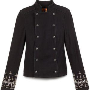 NWT Studded Black Elaine Jacket Size Large